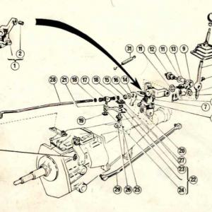 Scimitar SE5/5a Transmission G5/1