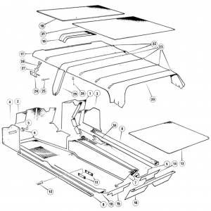 Scimitar SE6/6a Interior R2/Sheet 2
