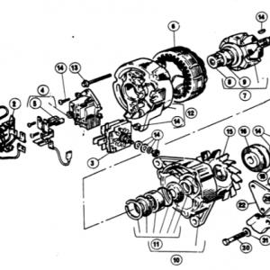 Scimitar SE5/5a Electrics T3
