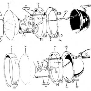 Scimitar SE5/5a Electrics T9