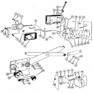 Scimitar SE6b/8 Door Components Q6