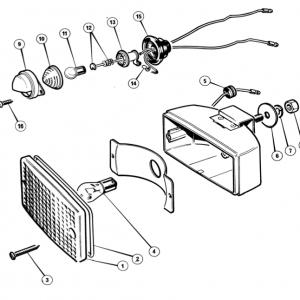 Scimitar SE6/6a Electrics T7