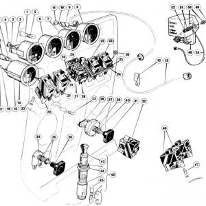 Scimitar SE6/6a Electrics T10/1