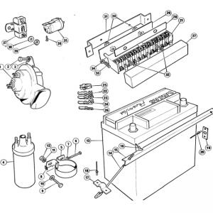 Scimitar SE6/6a Electrics T11/1