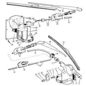 Scimitar SE6/6a Electrics T12/1