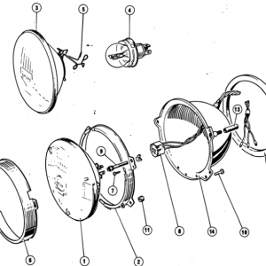 Scimitar SE4/4a/4b/4c Electrics T6