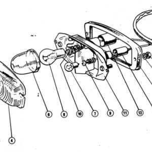 Scimitar SE4/4a/4b/4c Electrics T7