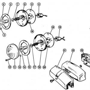 Scimitar SE4/4a/4b/4c Electrics T8