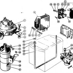 Scimitar SE4/4a/4b/4c Electrics T11