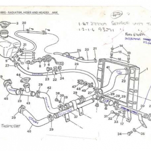 SS1/SST/Sabre Cooling System E1