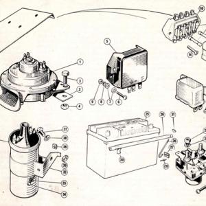 Scimitar SE4/4a/4b/4c Electrics T15