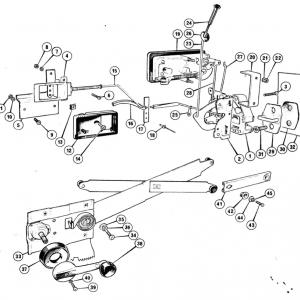 Scimitar SE6/6a Door Components Q6/1