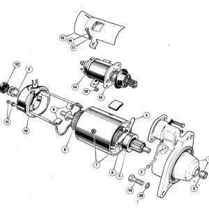 Scimitar SE6/6a Electrics T1