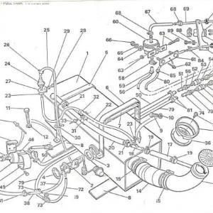 SS1/SST/Sabre Fuel System P1A