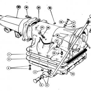 Scimitar SE5/5a Transmission G11/1