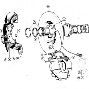 Middlebridge Scimitar Front Brakes L1